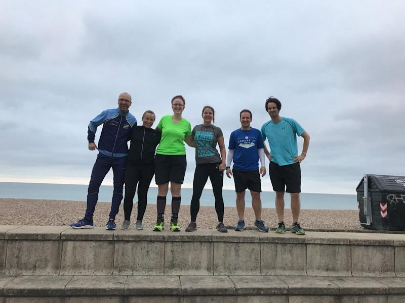 RunBrightonSEO Team Start